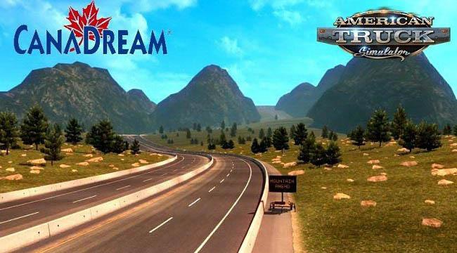 CanaDream Map v2.8.1 by ManiaX (1.33.x)
