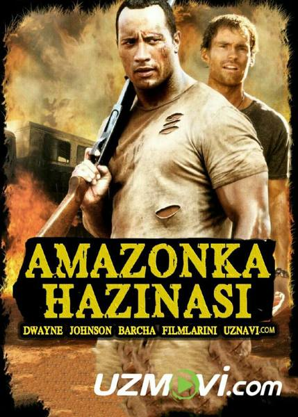 Amazonka xazinasi (Uzbek O'zbek tilida HD) tas-ix