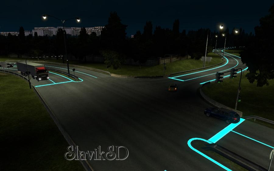 Roadways Luminous 1.1