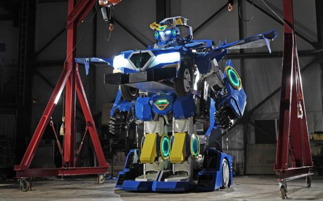 J-Diete-Ride-Transformer-car robot