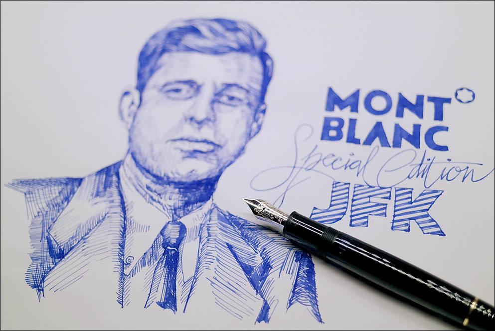 Montblanc JFK nib. Lenskiy.org