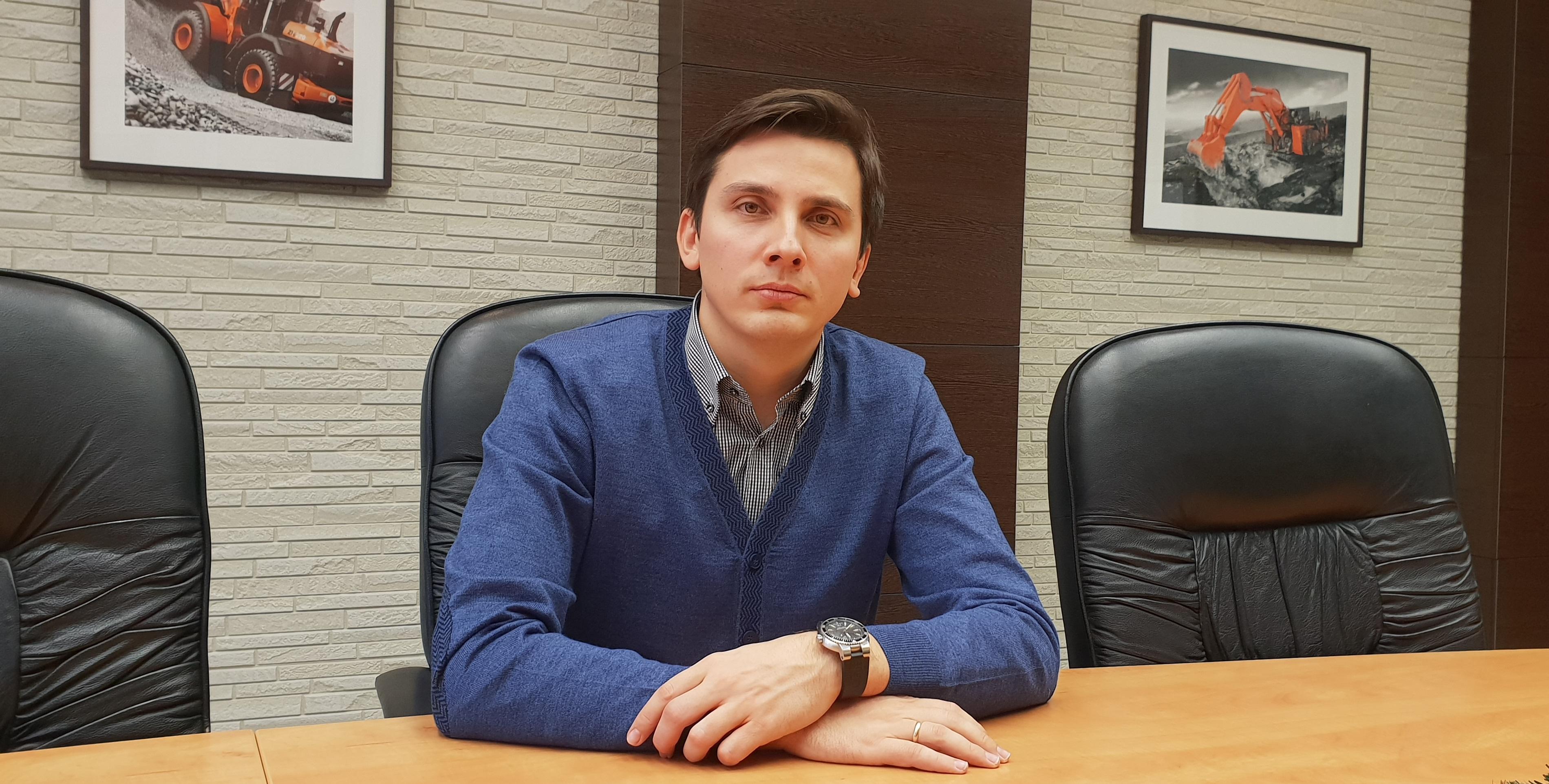 Дмитрий Красавин, менеджер отдела технической поддержки Hitachi Construction Machinery Eurasia