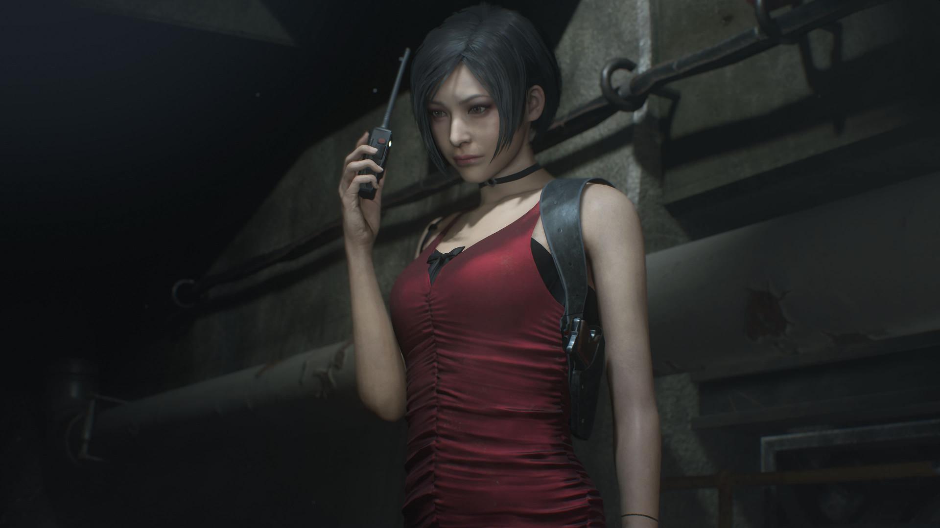 Новый мод для Resident Evil 2 показывает полностью голую Аду Вонг