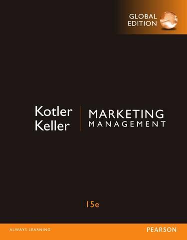 Обложка книги Kotler Ph., Keller K. L. / Котлер Ф., Келлер К. Л. - Marketing Management, Global Edition. 15е / Маркетинг менеджмент, Всемирное издание. 15-е изд. [2015, PDF, ENG]