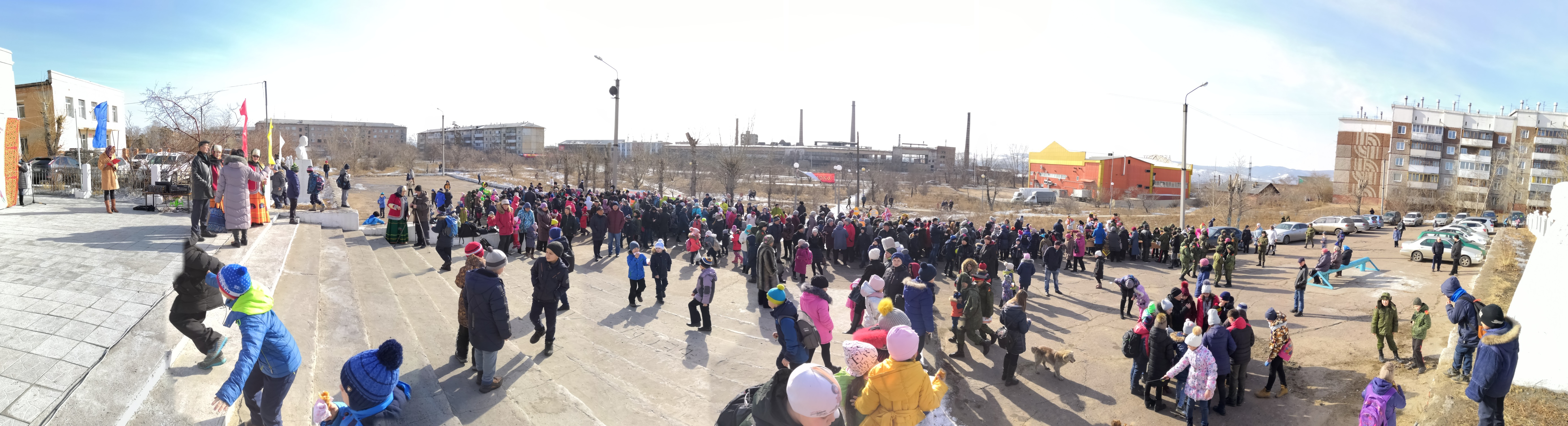 Традиционное народное гуляние Масленица – 2019 в сквере мкр. Стеклозавод.