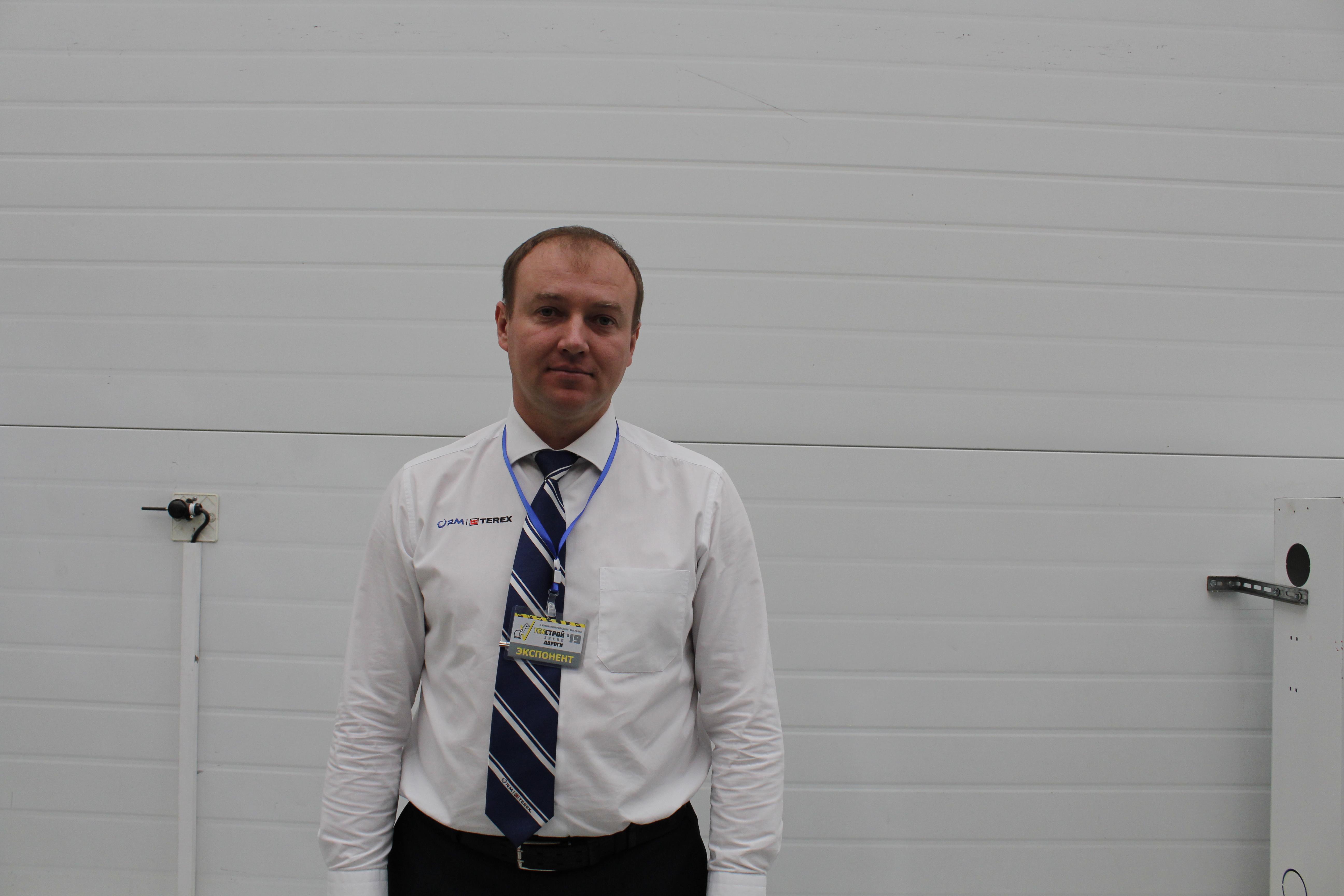 Евгений Береснев, руководитель направления продаж ООО «Карьерные машины» (официальный дилер «RM-Terex»)