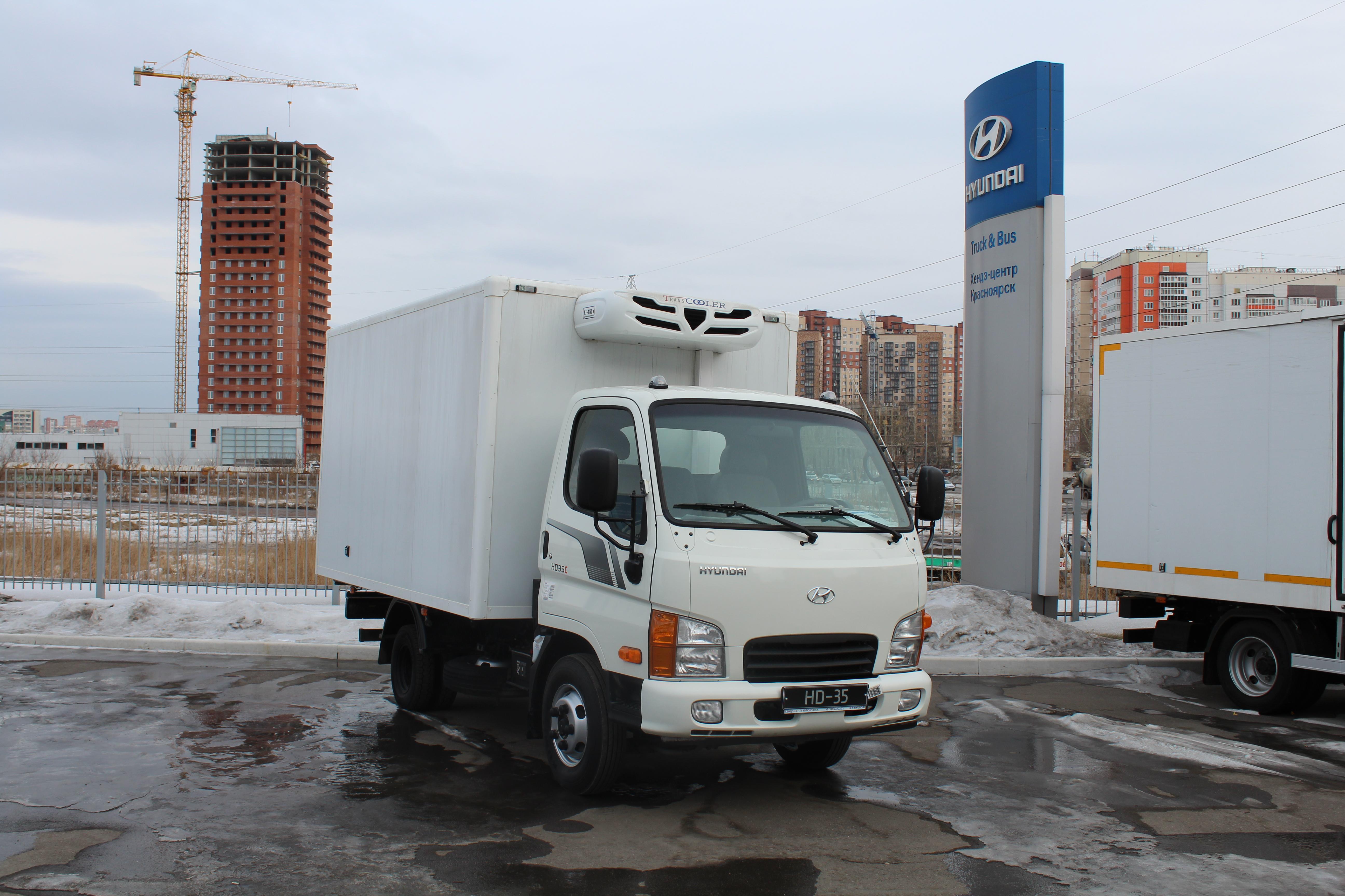 Фургон на  шасси HD35