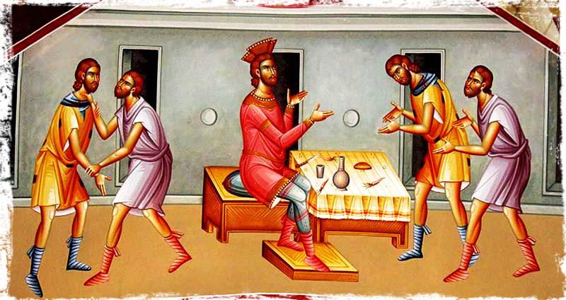 იგავი მოწყალე მეფესა და უმოწყალო მონაზე
