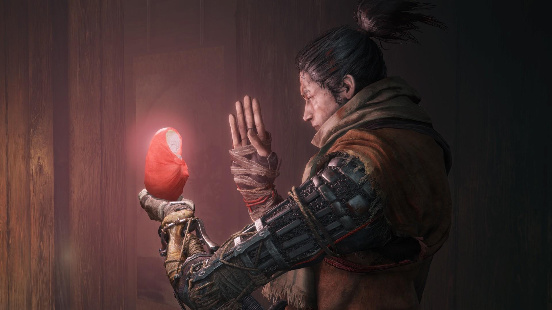 В Sekiro: Shadows Die Twice добавили оружие из Bloodborne и Dark Souls 3