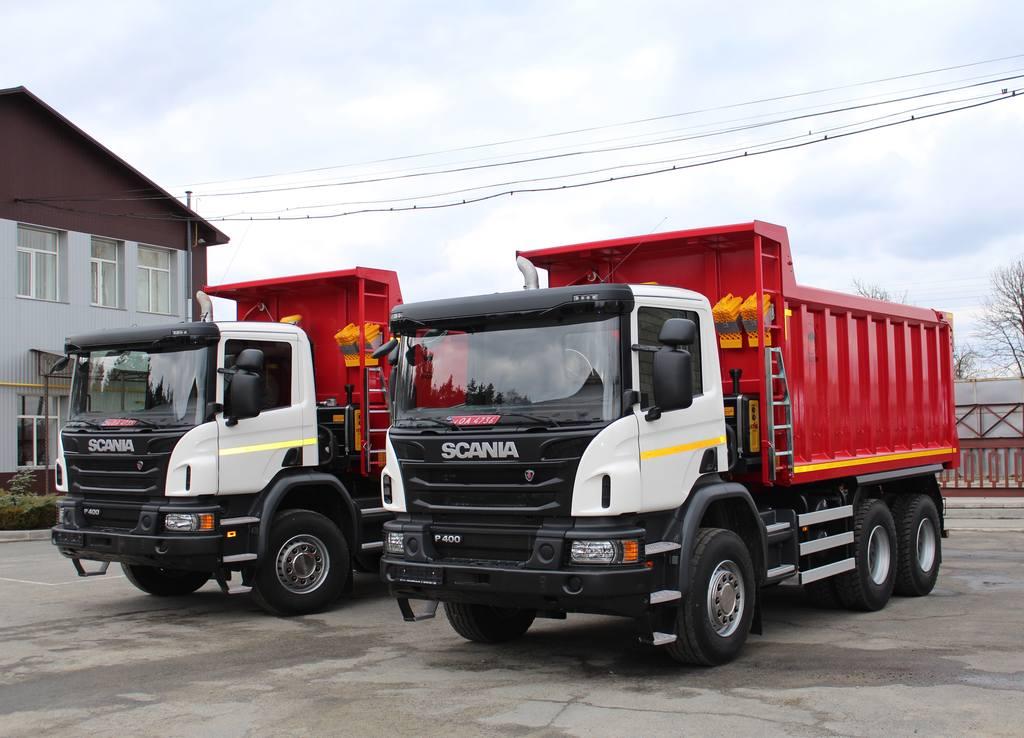 Самосвалы  Scania