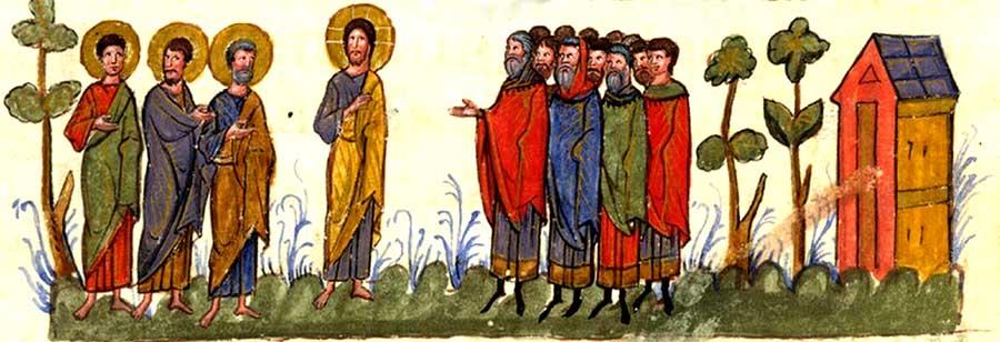 იესუ ქრისტე და ფარისევლები