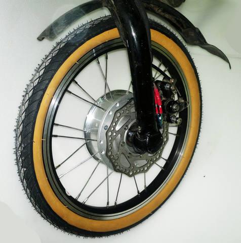 Триммерный... теперь в колесо.