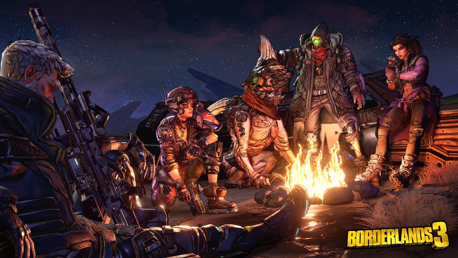 Коллекционное издание Borderlands 3 содержит ворох моделей