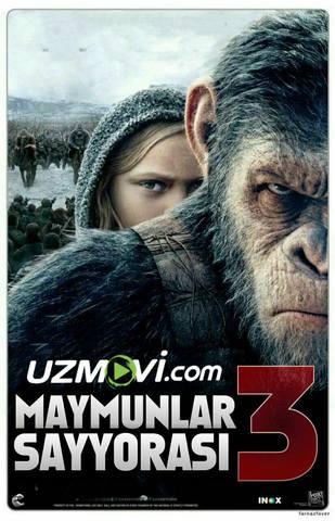 Maymunlar sayyorasi: 3 Urush