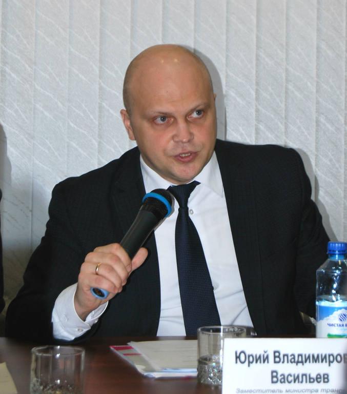 Юрий Васильев, заместитель министра транспорта Красноярского края