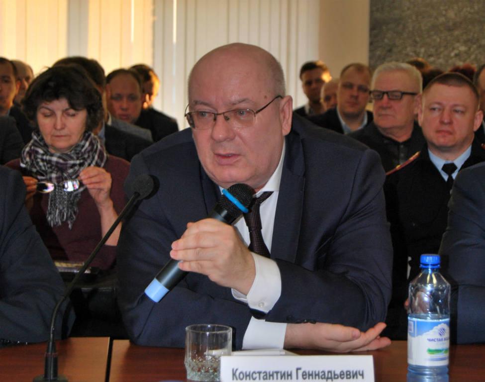 Константин Громенко, первый замначальника ГКУ «Территориальное управление автодорог Новосибирской области»