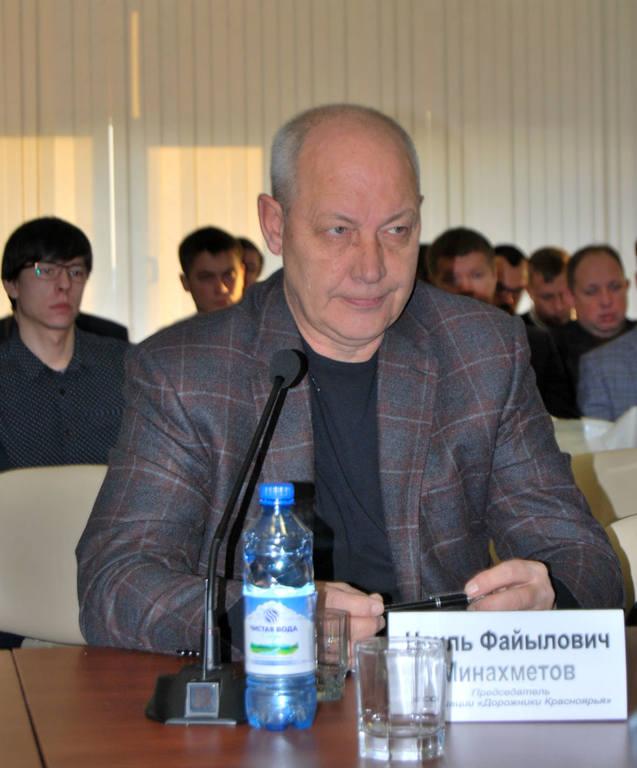 Наиль Минахметов, председатель ассоциации «Дорожники Красноярья»