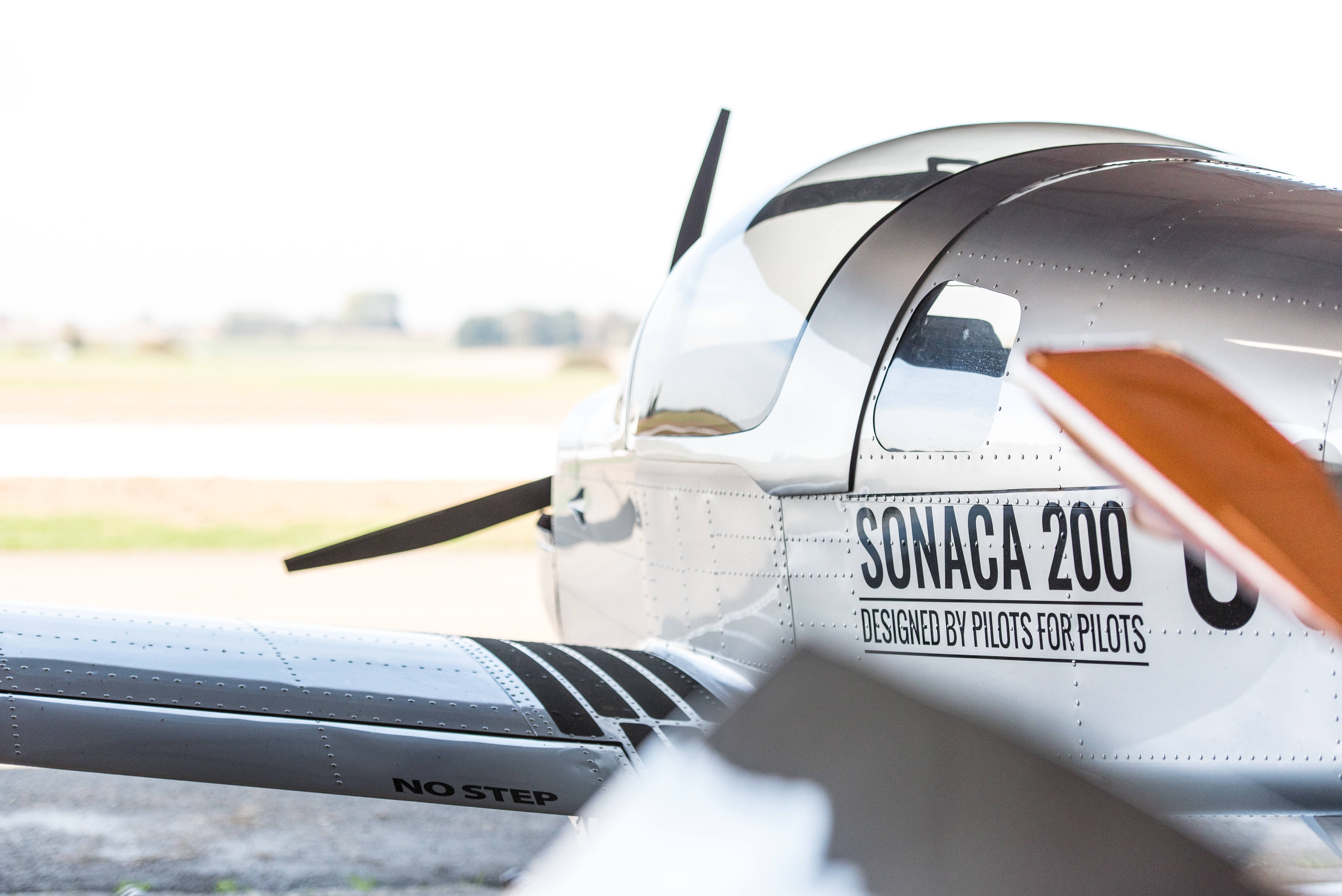 Discover Sonaca 200 Trainer Pro at the Aero Friedrichshafen