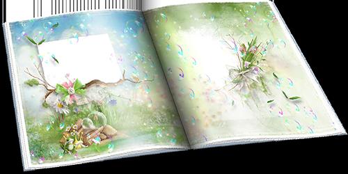Царевна-лягушка - Детский фотоальбом