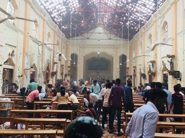Теракты в Шри-Ланке (обновляется)