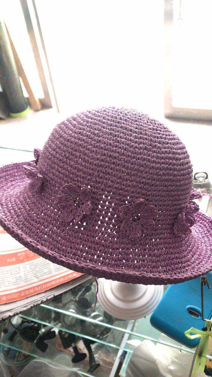 Шляпка для девочки. Крючок