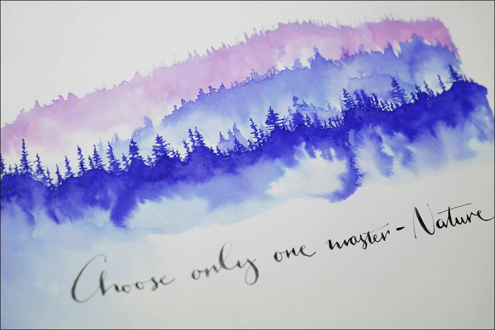 Inky Forest. Lenskiy.org
