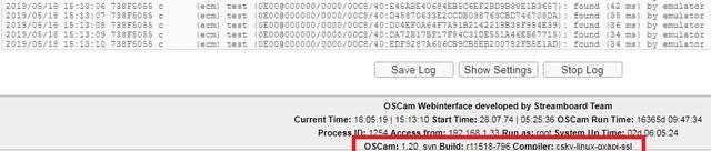 Softcam Key Oscam