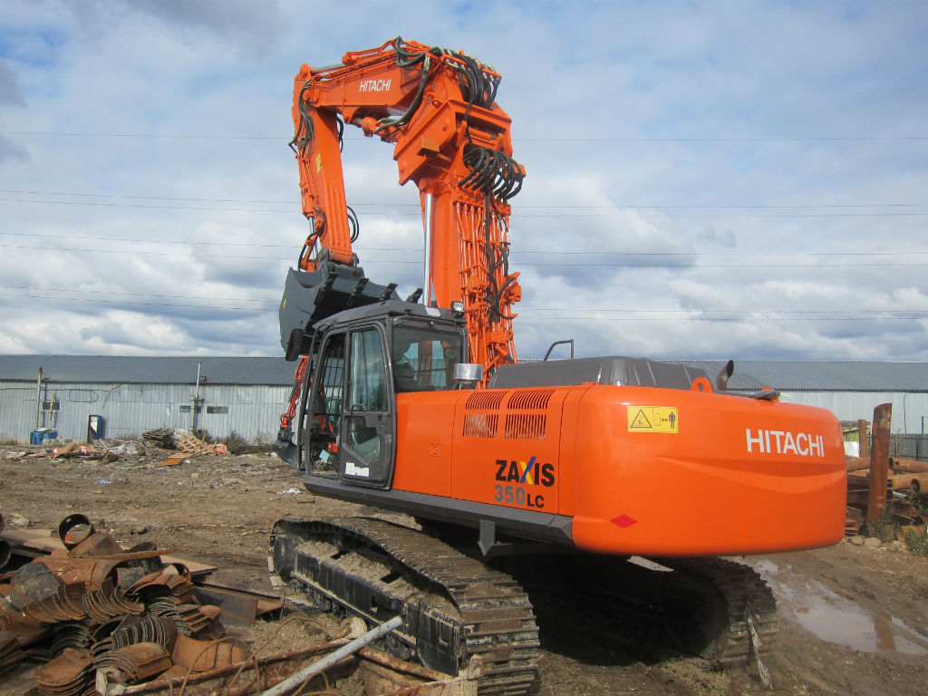 Экскаватор Hitachi ZX350 Demolition