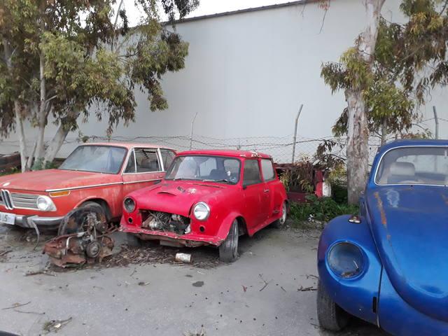 На машине по Кипру в марте 2019