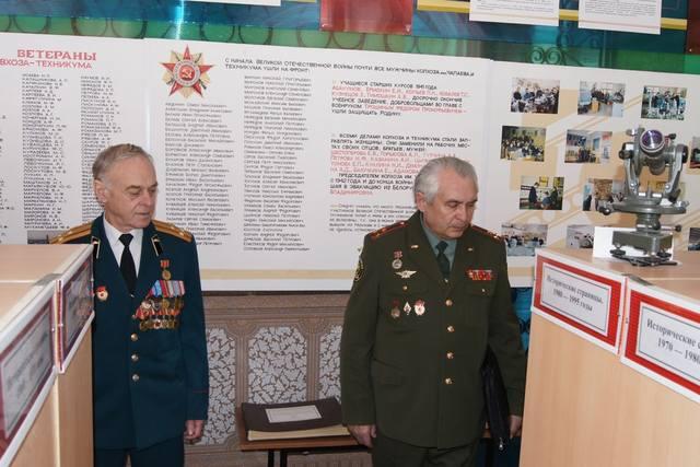 Ветераны Ульяновского танкового училища