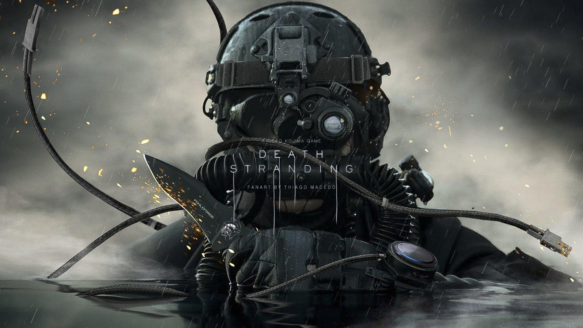 Появились новые постеры Death Stranding с основными персонажами игры