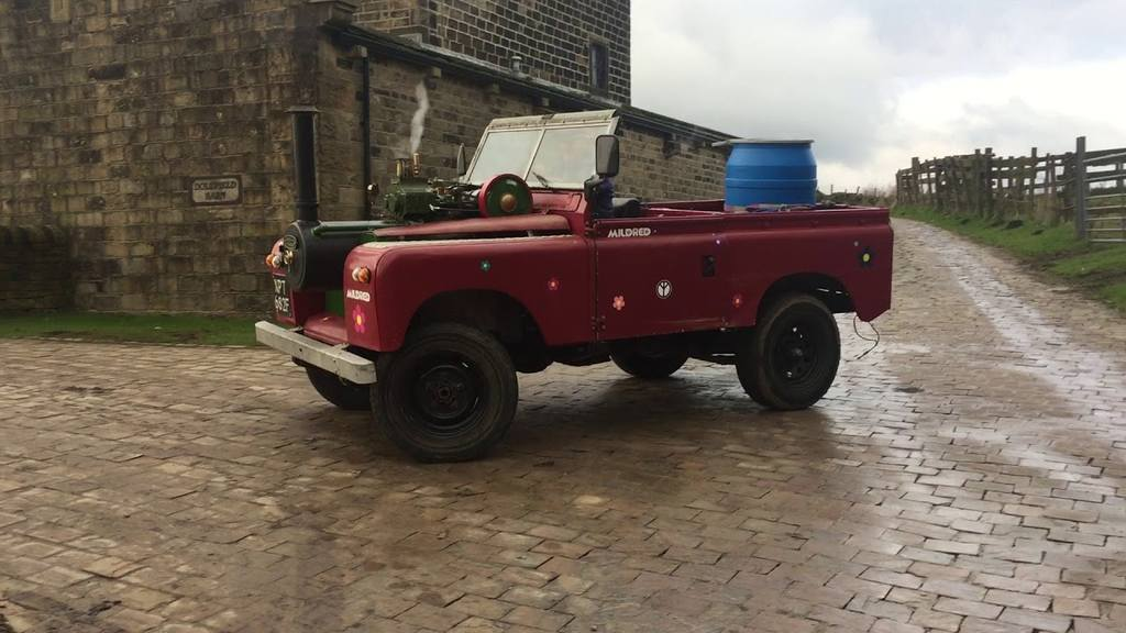 Паровой грузовичок Land Rover Mildred (Англия)