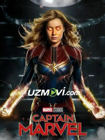 Kapitan Marvel Uzbek tilida Premyera