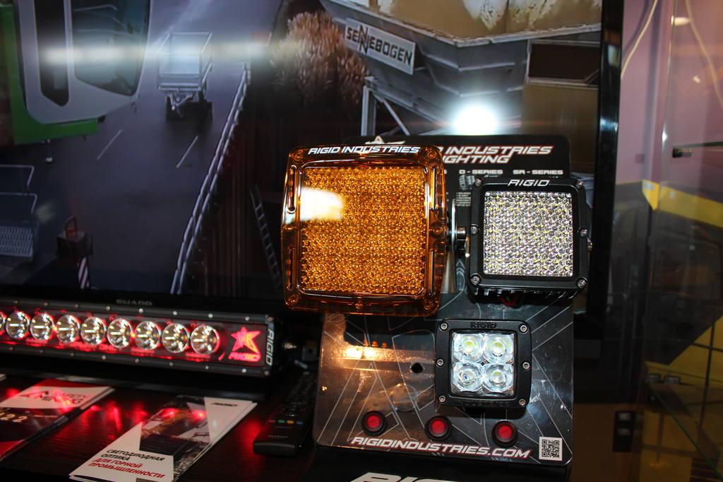 фонари от американского производителя светодиодной техники RIGID