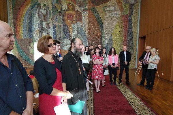 В Москве открылась выставка икон сербской художницы Саньи Миладинович