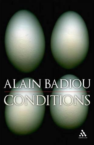 Обложка книги Badiou A. / Бадью А. - Conditions / Условия [2017, PDF, ENG]