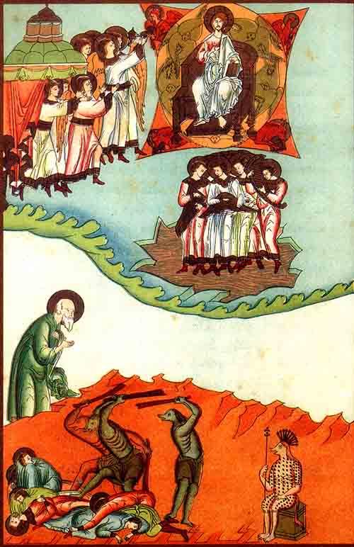 ანგელოზები და უკანასკნელი შვიდი წყლულება