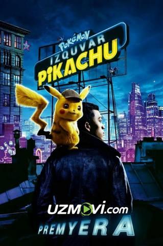 Pokemon: Izquvar Pikachu Uzbek tilida Premyera