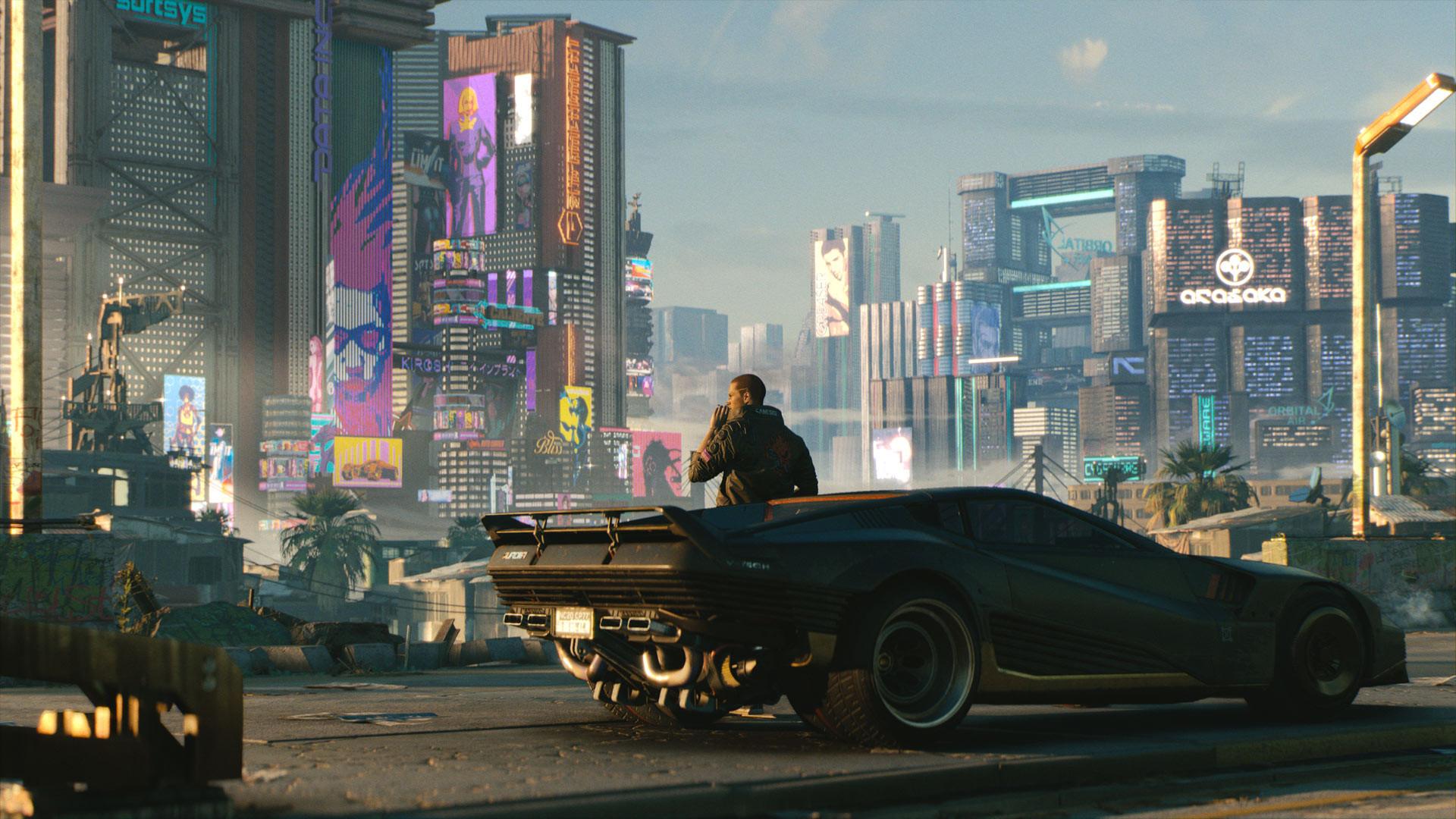 В Cyberpunk 2077 можно призвать свой транспорт в любое время как Плотву в The Witcher 3
