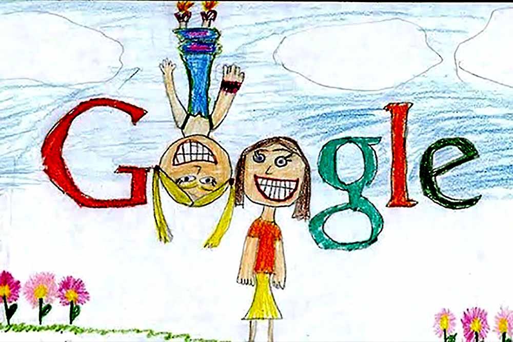 ბავშვები და google