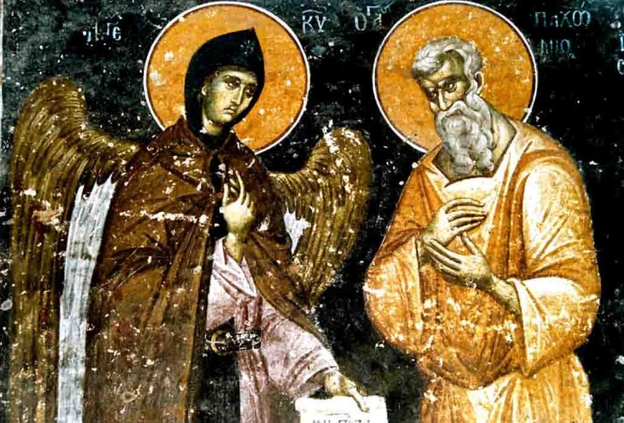 პახომი დიდი და ანგელოზი