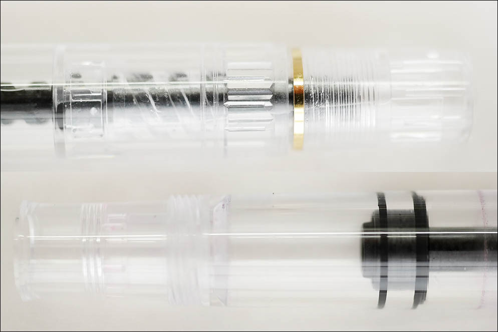 Pelikan M200 Demonstrator Clear. Lenskiy.org