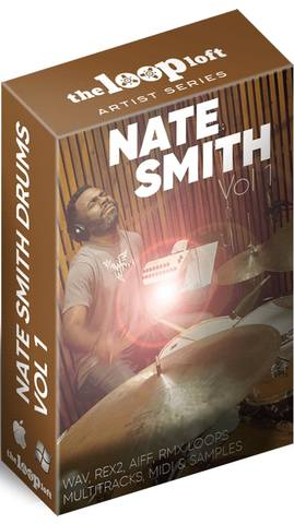 The Loop Loft - Nate Smith Drum Loops Vol.1 (MIDI, WAV)