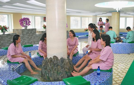 Лечение минводами в Северной Корее