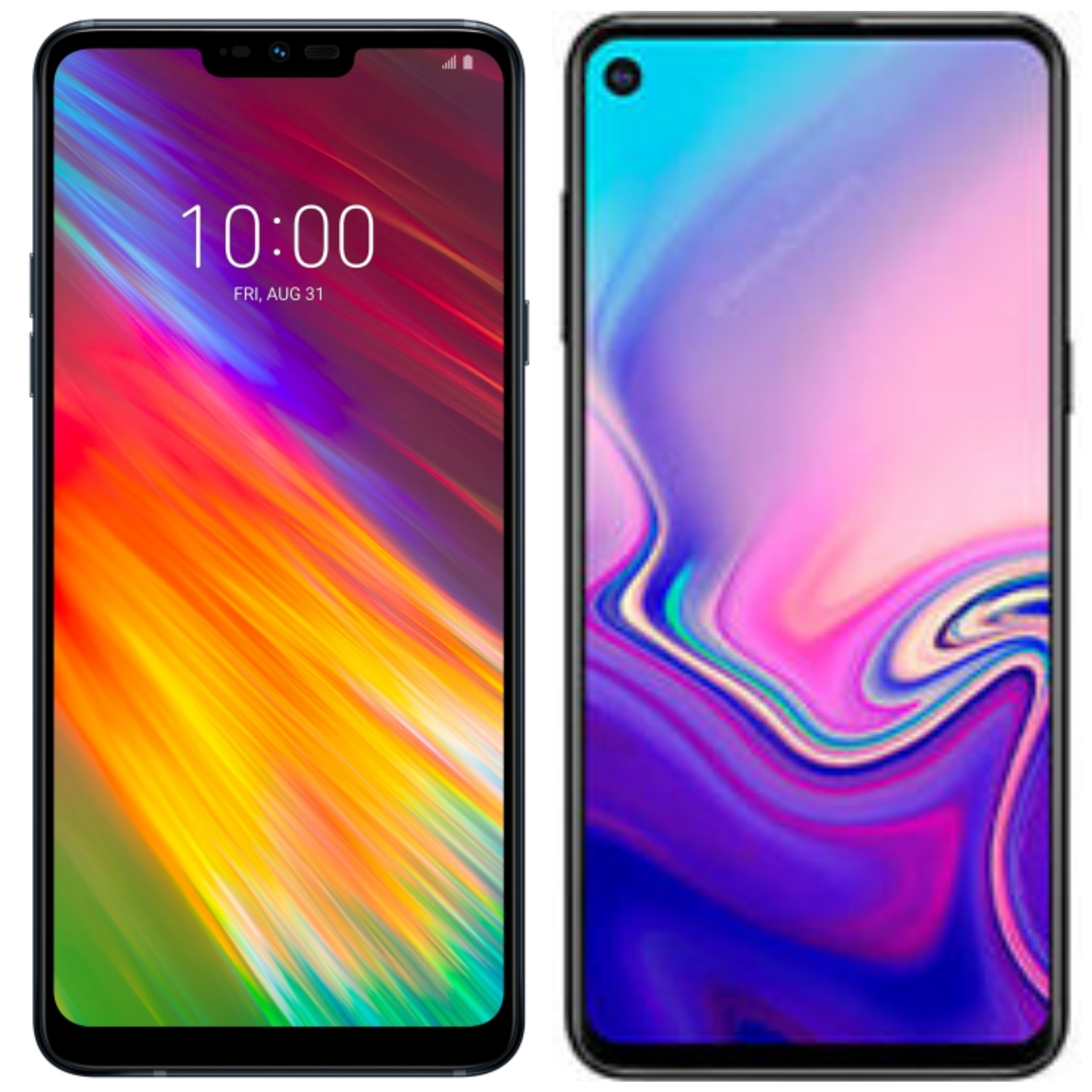 LG G8 and Galaxy A60.