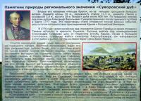 Пояснение возле Суворовского дуба. Фото Морошкина В.В.