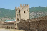 Стена Судакской генуэзской крепости. Фото Морошкина В.В.