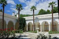 Дворик Ливадийского дворца, где была сделана известная фотография участников Ялтинской конференции. Фото Морошкина В.В.