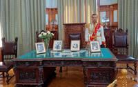 Личный кабинет Николая II в Ливадийском дворце. Фото Морошкина В.В.