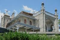 Крыло Воронцовского дворца в восточном стиле. Фото Морошкина В.В.